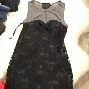 Small couture lace dress
